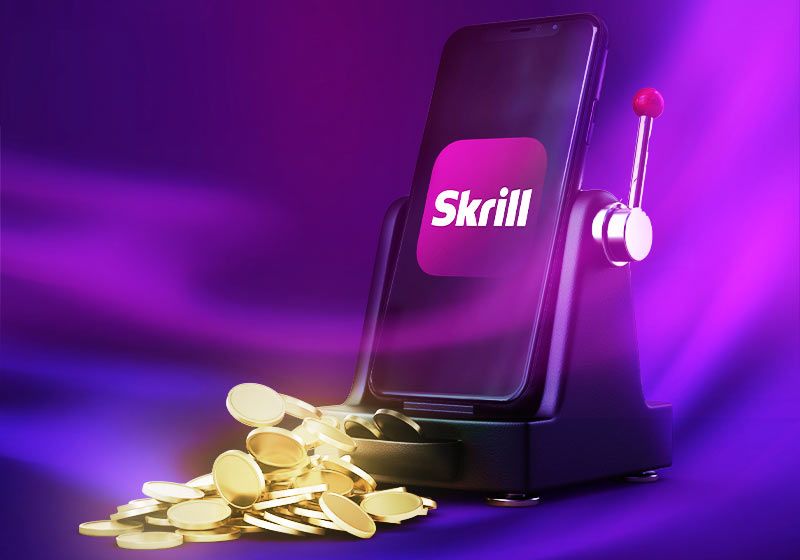Online maksed kasiinos Skrilli abil